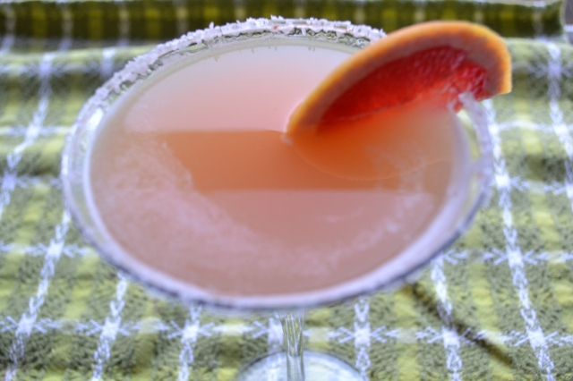 ginger grapefruit martini