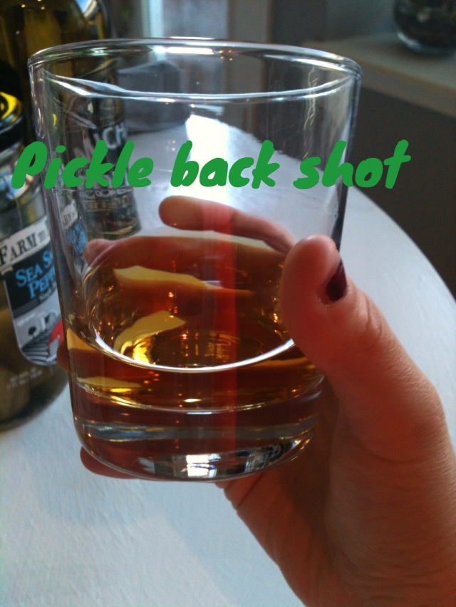 pickle back
