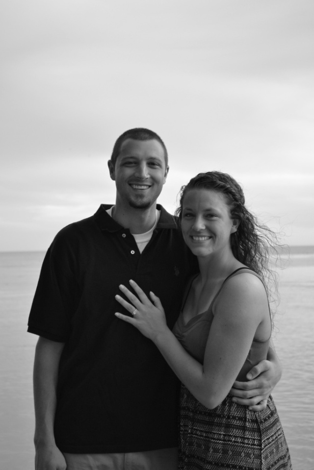 My sister-in-law is engaged!