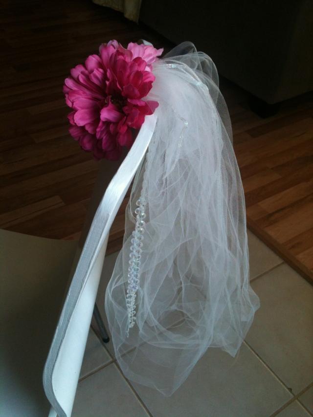 DIY Bachelorette Party Sash Veil